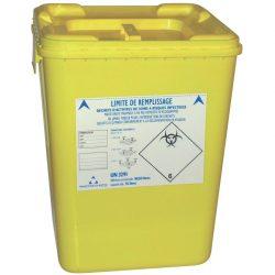 10 recipientes de plásticos para desechos biológicos 50 L