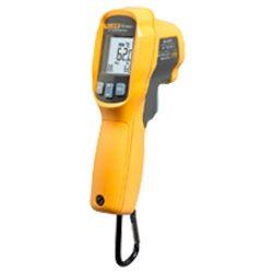 Termómetro por infrarrojos ideal para objetos en rotación y de difícil acceso