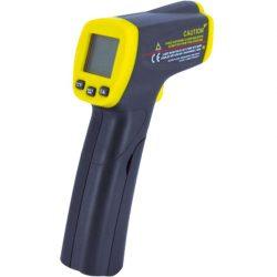 Termómetro infrarrojo con visor láser