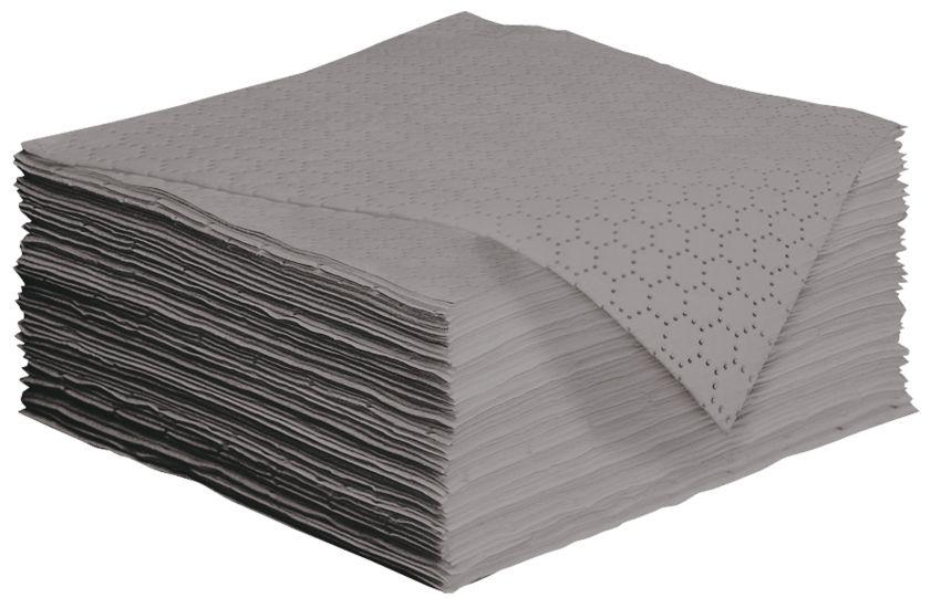 """50 hojas absorbentes universales """"Uptimum"""" doble espesor con capa de refuerzo en ambos lados. 50 cm x 40 cm"""
