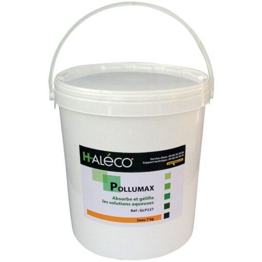 Polvo absorbente gelificante PolluMax para soluciones acuosas