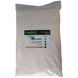 Polvo absorbente gelificante PolluMax para soluciones acuosas. Saco de 9Kg