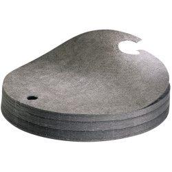 Cubre bidones absorbentes universales. Conserve la parte superior de sus bidones limpia. 200L Ø 56 cm