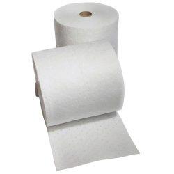 """Rollo absorbente hidrocarburos """"Uptimum""""  doble espesor con capa de refuerzo en ambos lados. 4600 cm x 41 cm"""
