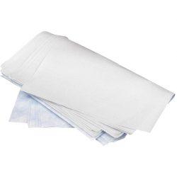 """250 hojas absorbentes productos químicos  """"Uptimum"""" simple espesor con capa impermeable en un lado. 50 cm x 40 cm"""