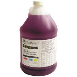 NeutraBase para bases. Líquido para neutralizar las bases antes de la limpieza y la eliminación. Botella de  3,7L