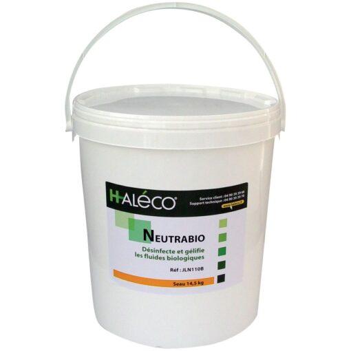 NeutraBio para fluidos biológicos. Polvo neutralizante y gelificante