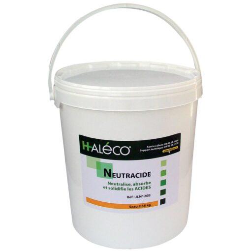 Polvo gelificante NeutrAcide para ácidos. Absorbe y solidifica instantáneamente todos los vertidos de ácidos