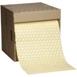 """Rollo absorbente productos químicos """"Uptimum""""  doble espesor con capa de refuerzo en ambos lados.  4000 cm x 40 cm"""