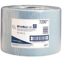Bobina azul Wypall® L20 para secado corriente, 1000 formatos