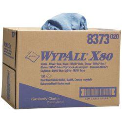 Gamuzas azules Wypall® X80 para secado difícil