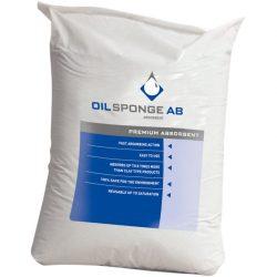 Absorbente en polvo para hidrocarburos Oil Sponge Bleu absorción y desecación de superficie.