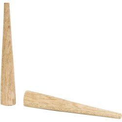 Tapón cónico de madera Ø 19 mm
