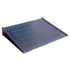 Rampa de polietileno para plataforma. 77,5 cm x 58 cm x 11,5 cm