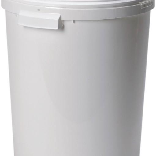 Cubo de plástico con tapa, 27 litros 1