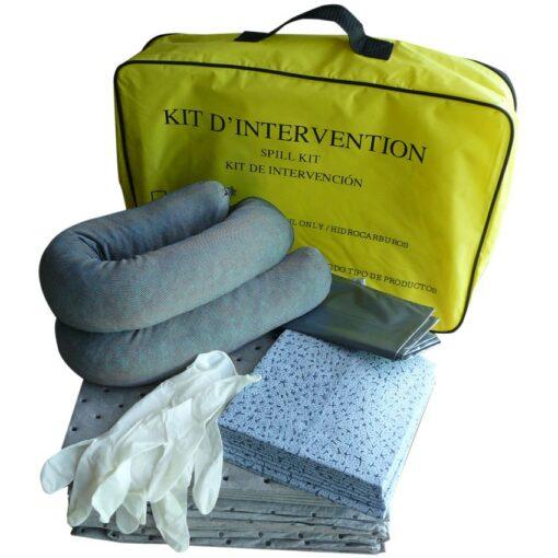 Kit absorbente universal en bolsa