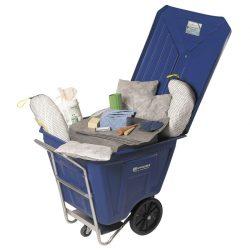 Kit absorbente universal en carrito. 300L