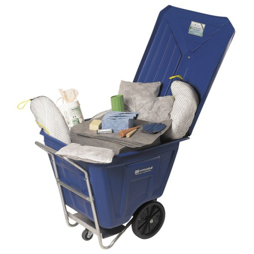 Kit absorbente universal en carrito