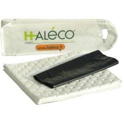 Mini-kit anticontaminación hidrocarburos. Se utiliza en prevención o en caso de pequeñas fugas (motor, cala…)  1,5 L