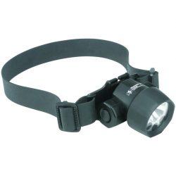 Linterna frontal con LEDs y bombilla Xenón ATEX
