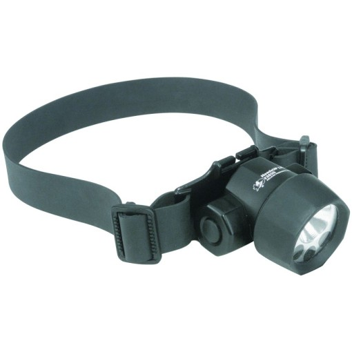 Linterna frontal con LEDs y bombilla Xenón ATEX 1