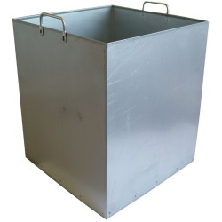 Cubo interior para papelera metal para trapos sucios 50 L