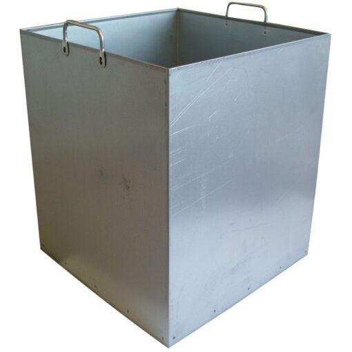Cubo interior para papelera metal para trapos sucios 50 L 1