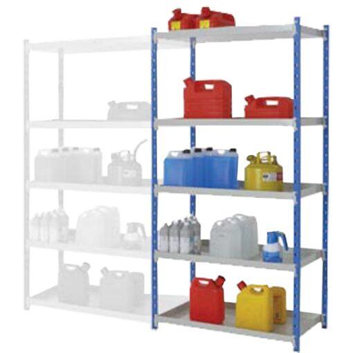 Elemento siguiente para estantería de seguridad de acero barnizado, 135 litros 1