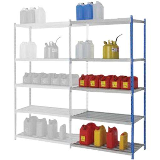 Elemento siguiente para estantería de seguridad de acero barnizado, 105 litros 1