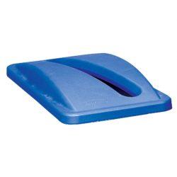 SLIM JIM Tapa apertura papel para papeleras Color Azul 29 cm x 52 cm x 7 cm