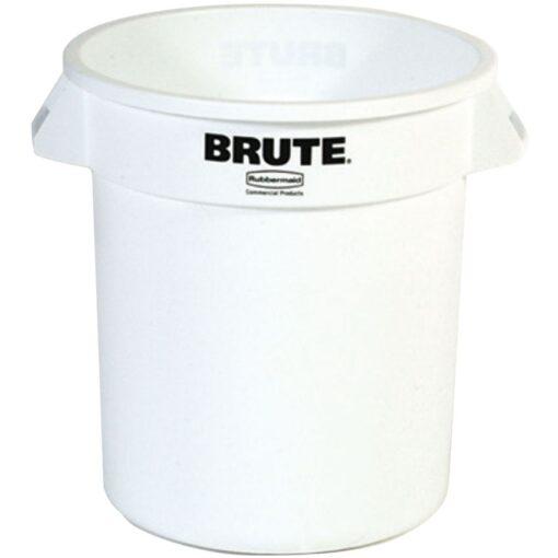 BRUTE Papelera de plástico color Blanco redonda, 76 L,   Ø49,5 cm x 58 cm 1