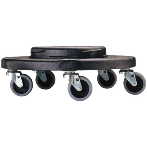 BRUTE Zócalo con ruedas para papeleras 76 a 166 L 1