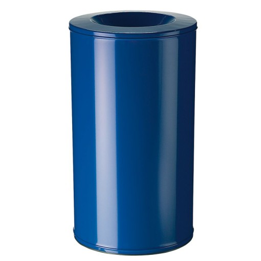 Papelera anti-incendio acero NEO Color Azul, 110 L