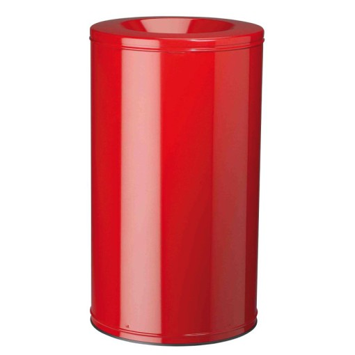 Papelera anti-incendio acero NEO Color Rojo, 110 L