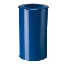 Papelera anti-incendio acero NEO Color Azul, 50 L.