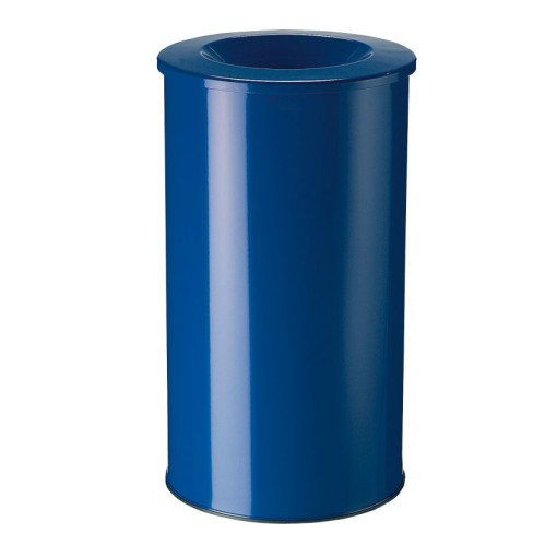 Papelera anti-incendio acero NEO Color Azul, 50 L
