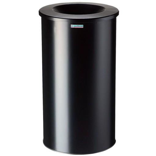 Papelera anti-incendio acero NEO Color Negro, 50 L