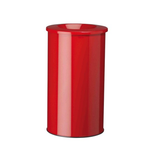 Papelera anti-incendio acero NEO Color Rojo, 90 L