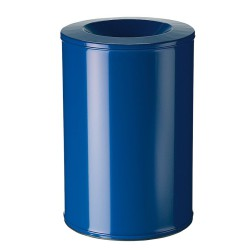 Papelera anti-incendio acero NEO Color Azul, 90 L.