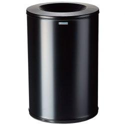 Papelera anti-incendio acero NEO Color Negro, 90 L.