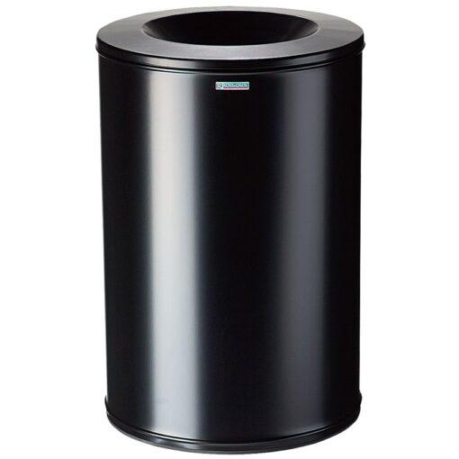 Papelera anti-incendio acero NEO Color Negro, 90 L