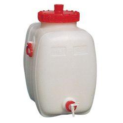Jerrican de seguridad con grifo para productos químicos o alimentarios