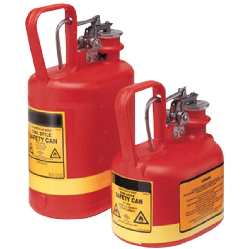 Jerrican de seguridad para productos corrosivos inflamables 4l - Recipientes para alimentos ...