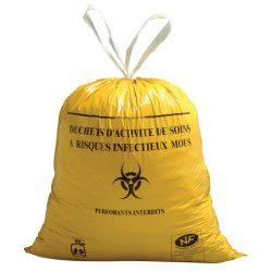 500 bolsas HOSTOSAC especiales para la recogida de desechos biológicos infecciosos  20 lts