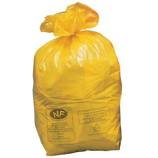 250 bolsas de recuperación NF amarillas, 110 L 1