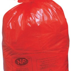 500 bolsas de recuperación NF rojas, 50 L