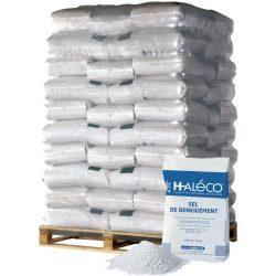 Sal de deshielo en palet de 40 sacos