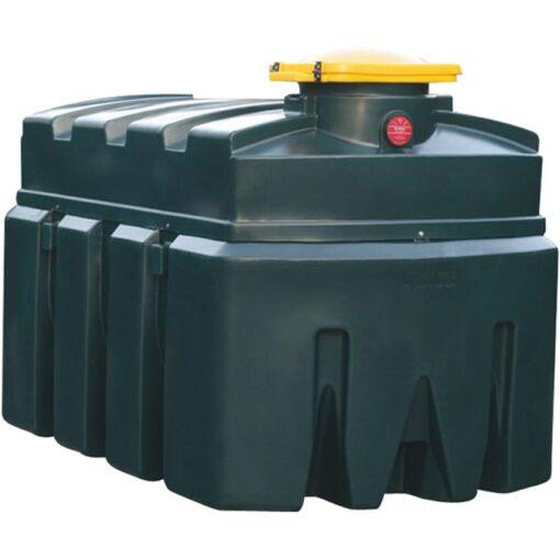 Cuba de almacenamiento en polietileno doble pared para aceites usados 2500 L 246 cm x 143 cm x 160 cm 1