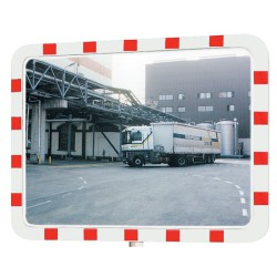 Espejo industrial interior/exterior con marco, 950 x 750 mm