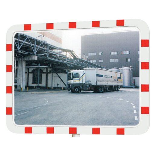 Espejo industrial interior/exterior con marco, 950 x 750 mm 1